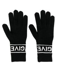 Givenchy - Black Wool Gloves - Lyst