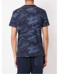Osklen - Blue T-Shirt mit Print for Men - Lyst