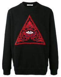Givenchy   Black Eye Print Jumper for Men   Lyst