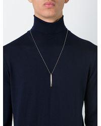 True Rocks - Metallic 'brad' Necklace - Lyst