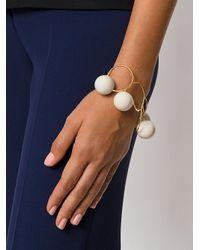 Marni - Metallic Orb Hoop Bracelet - Lyst