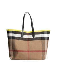 Burberry - Black The Giant Reversible Tote - Lyst