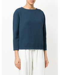 Black Crane - Blue 07 Textured Top - Lyst