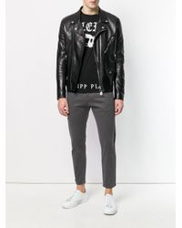 Philipp Plein - Black Fast And Glorious T-shirt for Men - Lyst