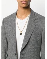 Dolce & Gabbana - Metallic Pendant Necklace - Lyst