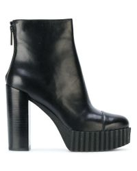Kendall + Kylie - Black Ankle Length Boots - Lyst