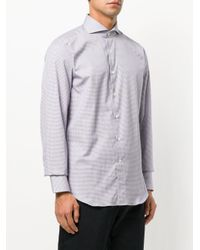 Canali - Blue Modern Fit Shirt for Men - Lyst
