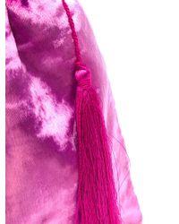 Attico - Pink Drawstring Pouch Tote - Lyst
