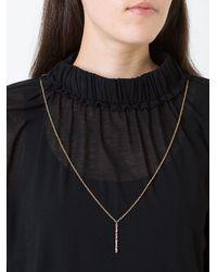 Carolina Bucci - Metallic Studded Magic Wand Necklace - Lyst