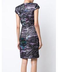 Rubin Singer - Black Lace Overlay Dress - Lyst