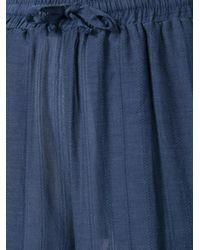 Onia - Blue Chloe Palazzo Pants - Lyst