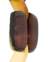 Marni - Multicolor Bracelet With Geometric Inserts - Lyst