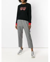 Chinti & Parker - Gray Plain Cropped Trousers - Lyst