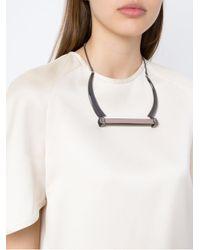 Camila Klein | Multicolor Resin Necklace | Lyst
