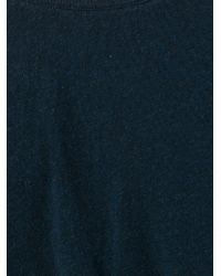 Yohji Yamamoto | Blue Longsleeved T-shirt for Men | Lyst