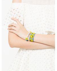 Venessa Arizaga - Blue Smiley Bracelet - Lyst