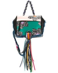 DIESEL - Multicolor Patterned Tassel Backpack - Lyst