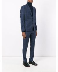 Paul Smith - Blue Plaid Two-piece Suit for Men - Lyst