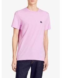 Burberry - Multicolor Classic Logo T-shirt for Men - Lyst