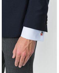Paul Smith - Metallic Striped Cufflinks for Men - Lyst
