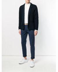 Eleventy - White Collarless Shirt for Men - Lyst
