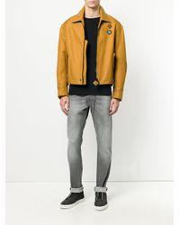 DIESEL - Gray Slim-fit Jeans for Men - Lyst