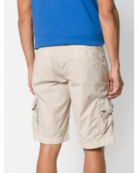 Peuterey - Natural Classic Cargo Shorts for Men - Lyst