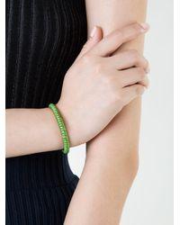 Carolina Bucci - Green Twister Bracelet - Lyst