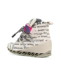 Bernhard Willhelm - Multicolor Multi-print Camper Sneakers - Lyst