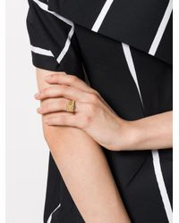 FEDERICA TOSI - Metallic Pyramid Ring - Lyst