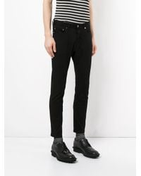 Attachment - Black Cropped Trousers for Men - Lyst