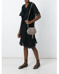 Chloé - Gray Small 'marcie' Shoulder Bag - Lyst