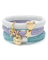 Marc Jacobs - White Charm Hair Ties - Lyst