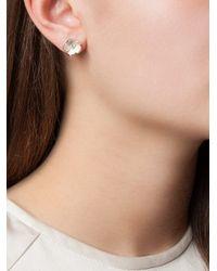 Shaun Leane   Metallic 'cherry Blossom' Diamond Earrings   Lyst