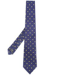 Fefe - Black Banana Print Bow Tie for Men - Lyst