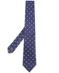 Fefe | Black Banana Print Bow Tie for Men | Lyst