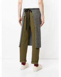 Undercover - Brown Drawstring Skirt - Lyst