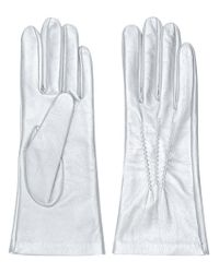 Manokhi - Metallic Fitted Gloves - Lyst