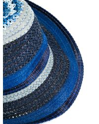 Etro - Blue - Contrast-tone Hat - Men - Viscose - S for Men - Lyst