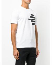 Fendi - White Words T-shirt for Men - Lyst