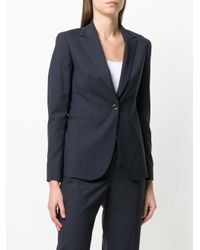 Tonello - Blue Buttoned Blazer - Lyst