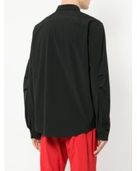 99% Is - Black Buttoned Up Shirt for Men - Lyst