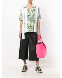 Stella McCartney | Green Reid Paradise Printed Shirt | Lyst