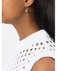 Rosa Maria - Metallic Dia Icy Drop Earrings - Lyst