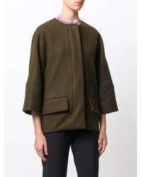 Marni - Green Cropped Sleeve Jacket - Lyst
