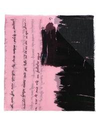 Faliero Sarti - Pink Poesia Scarf - Lyst