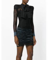 Faith Connexion | Black Bow Detail Lace Dress | Lyst