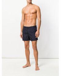 Dondup - Blue Plain Swim Shorts for Men - Lyst