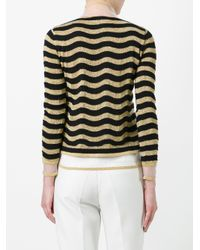 Fendi Black Waves Jumper
