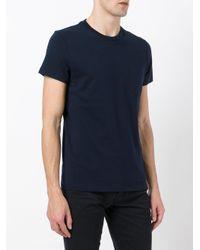 Tom Ford - Blue Round Neck T-shirt for Men - Lyst